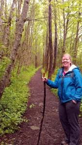 Hiking at Rattlesnake Mountain